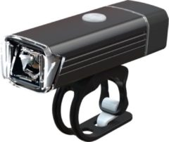 Zwarte Voorlicht Led Pro Sport Lights - 300 Lumen - USB Oplaadbaar - Waterdicht - Koplamp