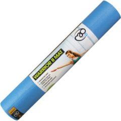 Fitness-Mad MADFitness - Warrior Yoga II Mat - Phthalaatvrij PVC - Dikte 4mm - Lichtblauw