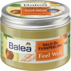 Balea Voetpeeling zout-olie Feel Well, 150 ml