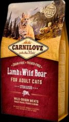 Carnilove Lam & Wild Zwijn Sterilised 2kg