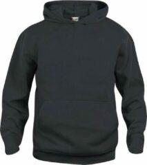Clique Basic hoody jr Zwart maat 90/100