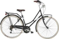 28 Zoll Damen City Fahrrad 6 Gang Alpina Viaggio... schwarz