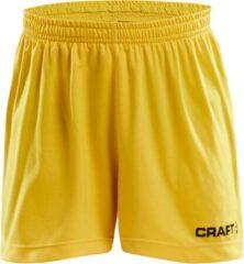 Craft Squad Sportbroek - Maat 146 - Unisex - geel/zwart