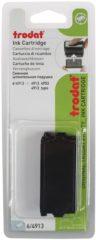 Trodat Reserve-stempelkussen 6/4913 78252 58 x 22 mm (bxh) Zwart 2 stuk(s)