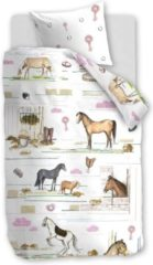 Beddinghouse Beddinghouse Kids Horse Ranch Dekbedovertrek - Multi 120 x 150