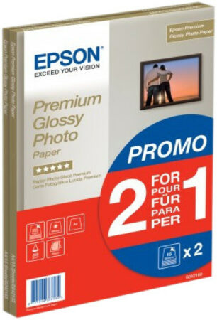 Afbeelding van Epson Premium Glossy Fotopapier 30 vel (A4)