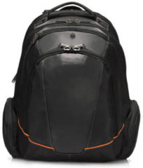 "Zwarte Everki Flight Laptop Backpack 16"" Black"