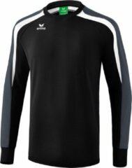 Erima Liga 2.0 Sweatshirt - Zwart / Wit / Donkergrijs | Maat: L