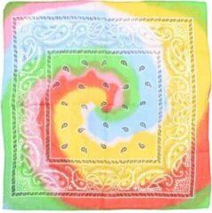 Attitude Holland Bandana Multicolour Tie Dye Paisley Mondkapje Multicolours