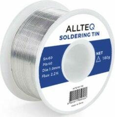 Soldeertin   1 mm   100 gram   Allteq