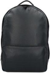 Kopenhagen Business Rucksack Leder 46 cm Laptopfach Jost black