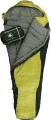 10-T Outdoor Equipment 10T Schlafsack Innoko L -21° warm weich 2200g Mumienschlafsack 215x85 Gelb / Schwarz 350g/m²