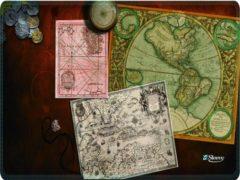 Bruine Muismat antieke kaarten - Sleevy - mousepad - Collectie 100+ designs