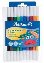 Pelikan Etui COLORELLA DUO C407/10, Kleuren ass.
