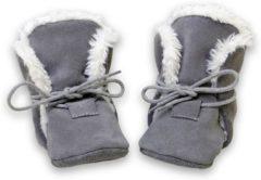 Hobea - winter - babysloffen - grijs - Maat 26/27