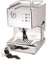 Zilveren Quickmill Quick Mill QM3000VAP Quick 3000 Halfautomatische Espressomachine