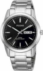 Zilveren Pulsar Pj6021X1 - Horloge - Staal - Zilverkleurig - Ø 37 mm