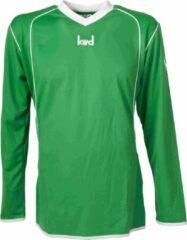 KWD Sportshirt Victoria - Voetbalshirt - Kinderen - Maat 140 - Groen/Wit
