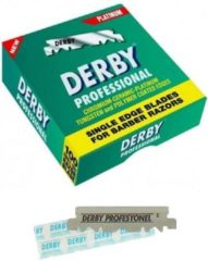 Derby Professional Single Blades 100 pcs | Scheermesjes Vrouw + Man