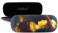 Bruine LANZFELD Brillenkoker, Rembrandt, Saskia