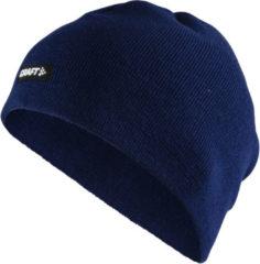Donkerblauwe Craft Muts (Sport) - Unisex - donker blauw