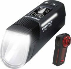 Trelock Verlichtingsset Ls660 I-go Visionlite + Ls740 Vector Zwart