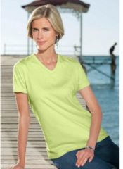 Groene Classic Basics shirt in single-jerseykwaliteit