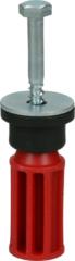 Polar Transportsicherungsschraube (Distanzstück mit Dichtung, Schraube und Unterlegscheibe) Waschmaschine 481253268151