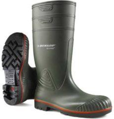 Groene Dunlop Acifort Heavy Duty S5 Knielaars | Werklaarzen | Bustotaal.nl