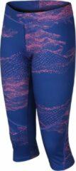 Hannah Sportlegging Relay Dames Synthetisch Blauw/roze Mt 40