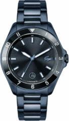 Lacoste LC2011128 Horloge Tiebreaker staal blauw-zwart 43 mm