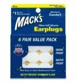 Macks Earplugs (6paar)