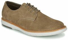 Beige Nette schoenen Clarks DRAPER LACE