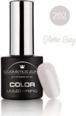 Grijze Cosmetics Zone UV/LED Hybrid Gel Nagellak 7ml. Stone Grey 202