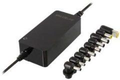 Zwarte Valueline Notebook Adapter 15 / 16 / 18 / 19 / 20 / 22 / 24 VDC 120 W