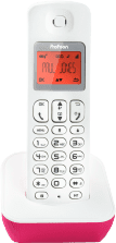 Profoon PDX-900RD DECT Telefoon | Verlicht display | 50 geheugens | Rood