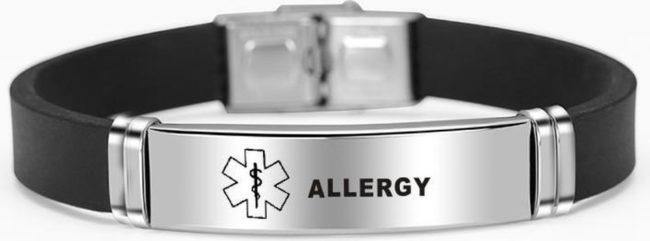 Afbeelding van Merkloos / Sans marque Armband Alzheimer - waarschuwings armband - allergie