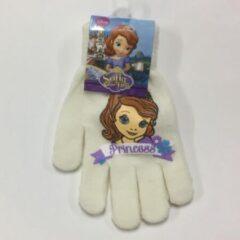 Witte Suncity Disney Prinses Sofia Handschoenen / Handschoen / Handschoentje