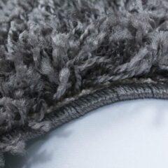 Dream Hoogpolig Vloerkleed - Kaapverdië - Rechthoek - Grijs - 120 x 170 cm - Vintage, Patchwork, Scandinavisch & meer stijlen vind je op WoonQ.nl