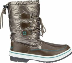 Wintergrip Winter-grip Snowboots Sr - Glossed Trotter II - Donker taupe/Smaragd/Beige - 41