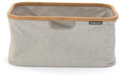 Grijze Brabantia Opvouwbare Wasmand - 40 l - Grey