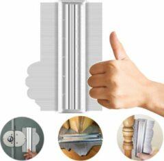 AXTIES® Prowork Aftekenhulp 14CM voor DIY Projecten / Laminaat / Plinten / Parket / Tapijt / Tegel - Profielmal - Profielmeter - Profielaftaster - Meetinstrument - Contourmallen Schuifmaat Metaal