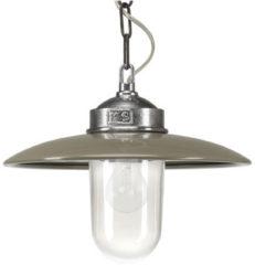 Ks Retro hanglamp 6580 - Solingen Retro Kleur: Taupe / Geborsteld Metaal - Outlet