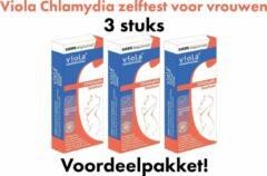 Chlamydia zelftest 3 st  Viola Chlamydiatest (vrouw)   Thuistest  Zelftest
