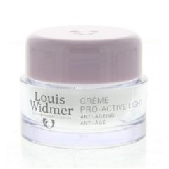 Louis Widmer Pro-Active Cream Light Licht Geparfumeerd Nachtcrème 50 ml