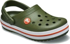 Crocs - Kid's Crocband Clog - Outdoor sandalen maat C4 olijfgroen