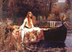 Eurogra Puzzel 1000 stukjes - The lady of Shallot