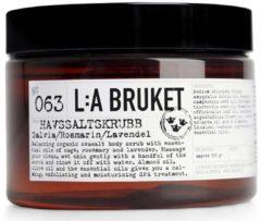 La Bruket Körperpflege Peelings Nr. 063 Salt Scrub Sage/Rosemary/Lavender 350 ml