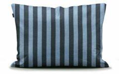 Blauwe Bedderie.nl Marc O'Polo Classic Stripe kussensloop Deep blue