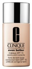 Huidskleurige Clinique Even Better Make Up SPF15 foundation - Dry Combination To Combination Oily 03 Ivory